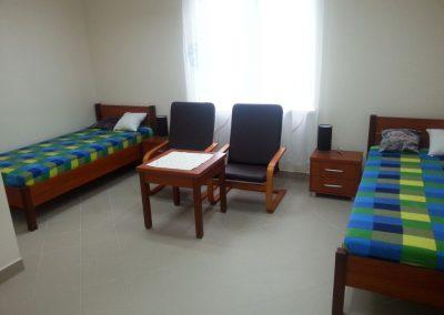 Przestronne pokoje