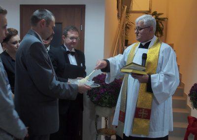 Uroczyste otwarcie i błogosławieństwo kapelana